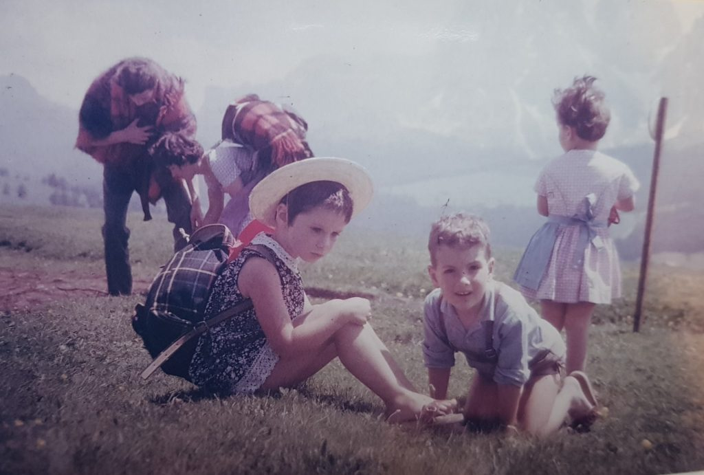 Georgia Kaufmann in South Tyrol